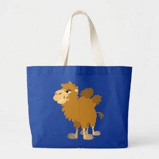 Cute Cartoon Two-Humped Camel Bag bag