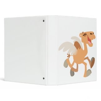Cute Cartoon Winged-Camel Binder binder