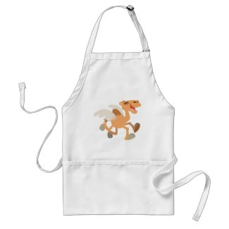 Cute Cartoon Winged-Camel Cooking Apron apron
