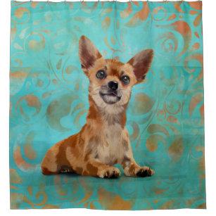chihuahua shower curtains zazzle