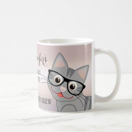Cute Crazy Cat Lady Personalized Mug