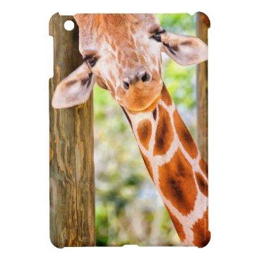 Cute Giraffe iPad Mini Case