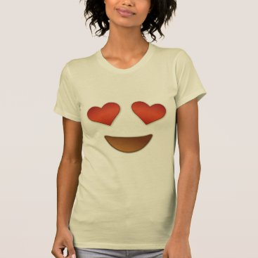 Cute Heart for eyes emoji T-Shirt