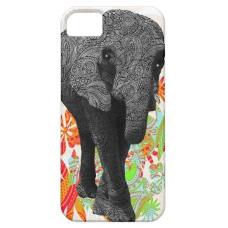 Cute Hippy Elephant iPhone 5 Cases