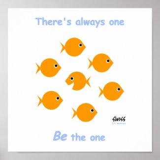 Cute Inspirational Teacher's Classroom Poster print