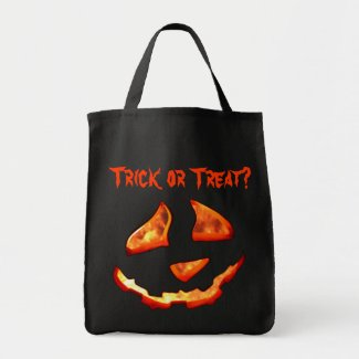 Cute Jack'o Lantern Trick or Treat Bag