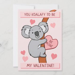 Cute Koala-ty Valentines Day Card