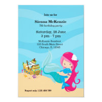 Cute Mermaid Card