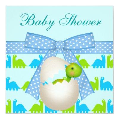 Baby Dinosaur Baby Shower invitation