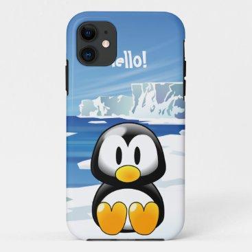 Cute Penguin iPhone 11 Case