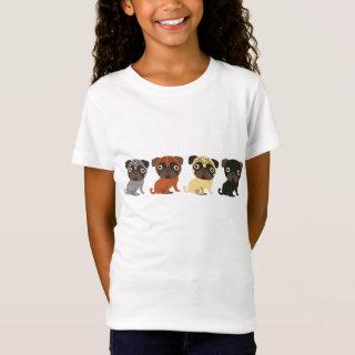 Cute Pug 4 T-Shirt