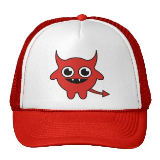 Cute Red Devil hat