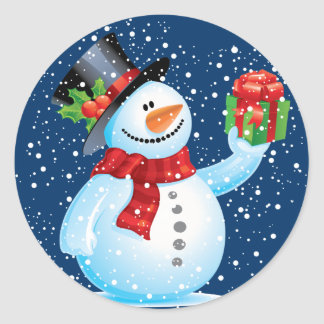 Cute Christmas Snowman Gifts On Zazzle