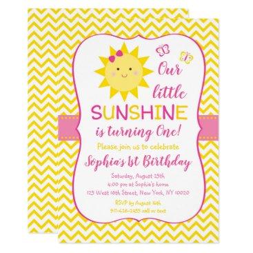 Cute Sunshine Birthday Card