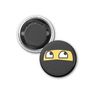 Cute & tiny ninja warrior emoji magnet