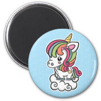 Cute Unicorn magnet