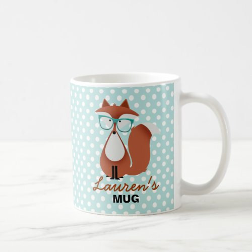 Cutie Cartoon Fox Mug