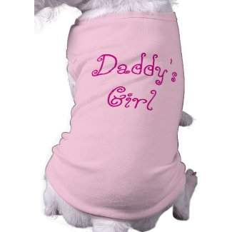 Daddy's Girl petshirt