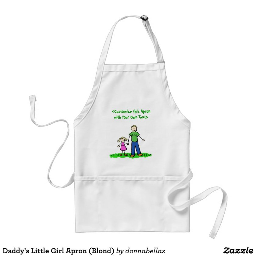 Daddy's Little Girl Apron (Blond)
