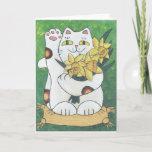 ❤️ Daffodil Neko Card