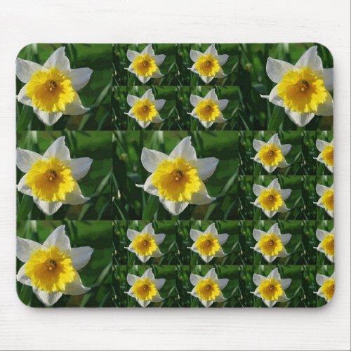 Daffodil Tic Tac Toe mousepad