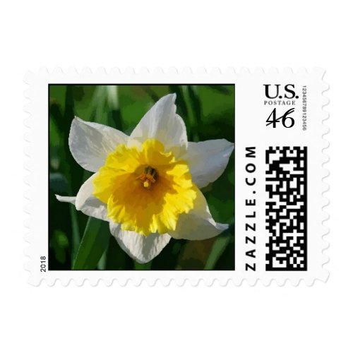 Daffodils Symbolize Renewal and Hope Postage stamp
