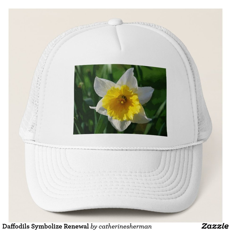 Daffodils Symbolize Renewal Trucker Hat
