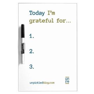 Daily Gratitude Board