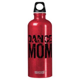 DANCE Mom Aluminum Water Bottle