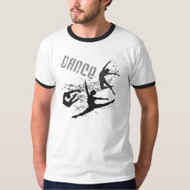 Dance Ringer T-shirt (customizable)