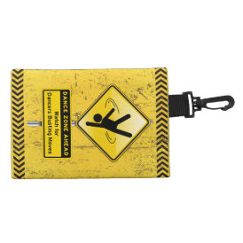 Dance Zone Ahead-Watch for Dancers Busting Moves! Accessory Bag