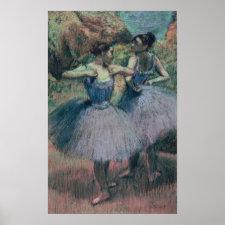 Dancers in Violet Poster