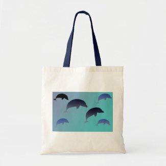 Dancing Dolphins Bag bag