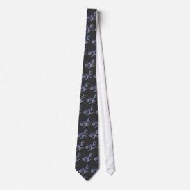 Danseurs Tie (blue)