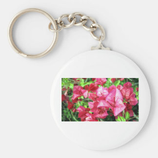 Dark Rhododendron in California Key Chain