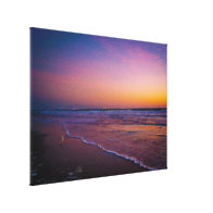 Dawn on Daytona Beach Atlantic Coast Modern Art Stretched Canvas Prints