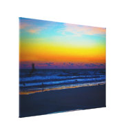 Dawn on the Beach III Canvas Print