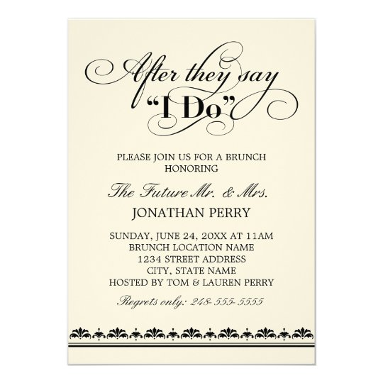 Enjoy Your Wedding Day The Key Steps 1 Make Sure To Send Rehearsal Dinner And Morning After Breakfast Brunch Invitations