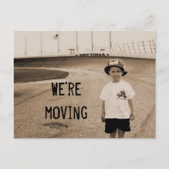 Daytona Moving postcard
