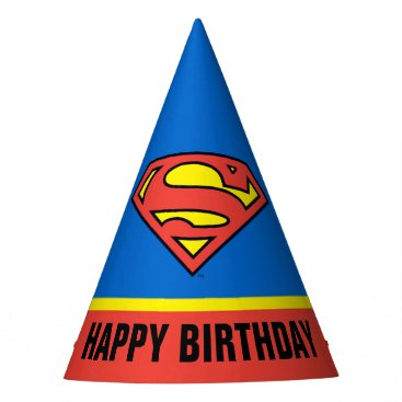 DC Comics | Superman | Classic Logo Party Hat