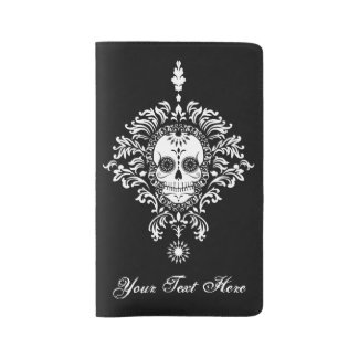 Dead Damask - Custom Sugar Skull Moleskine Cover
