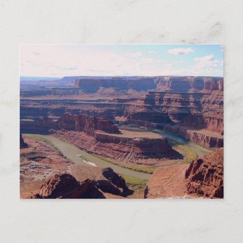 Dead Horse Point State Park, Colorado, Postcard postcard