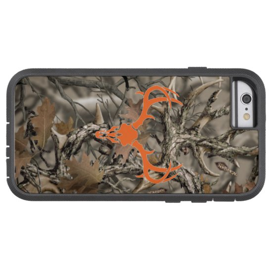 Deer Hunting Camo Skull Tough Xtreme iPhone 6 Case