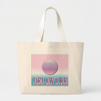 Delaware Airbrush Sunset Bag