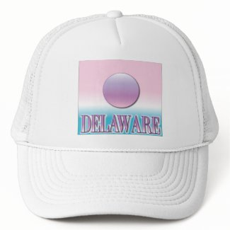 Delaware Airbrush Sunset Hats