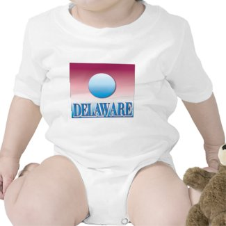 Delaware Blue Sunset Airbrush T-shirt