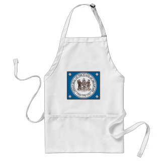 Delaware State Seal Aprons