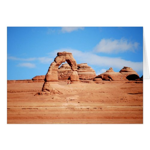 Delicate Arch, Arches National Park, Utah Card