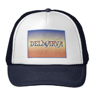 DelMarVa Antique Map Mesh Hat