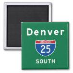 Denver 25 magnet